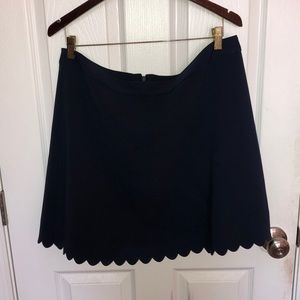 Navy blue  Banana republic factory skirt